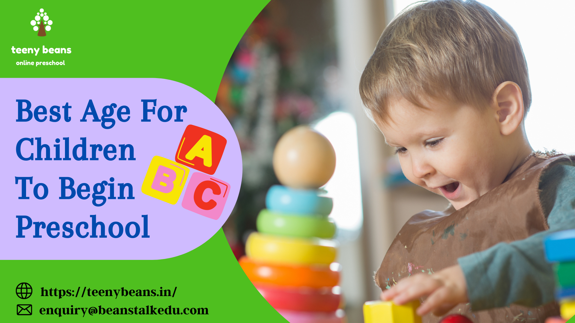Best age for children to begin preschool