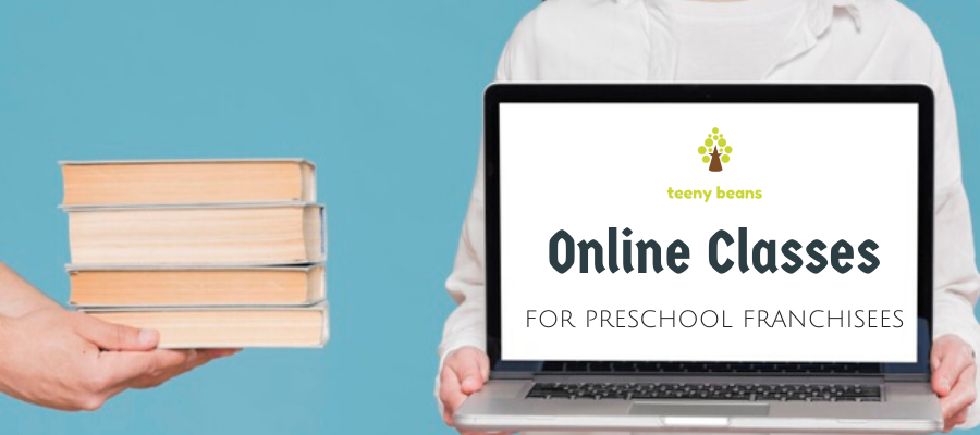 Digital preschool solution for preschool franchisees