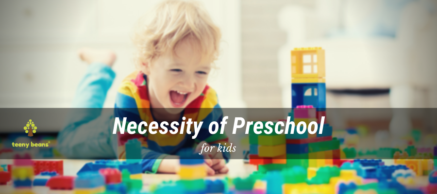 How does a child benefit from a preschool?