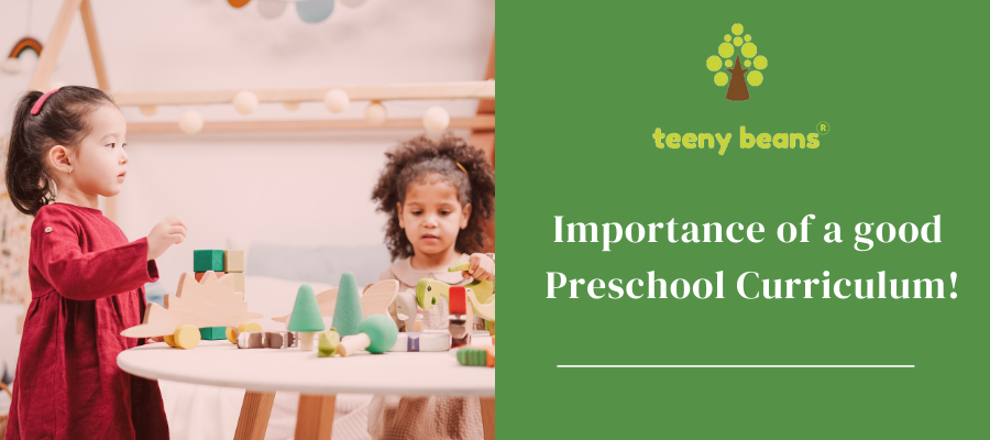 Importance of a good preschool curriculum